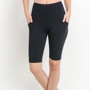 Pants - High Waisted Short Leggings 1922